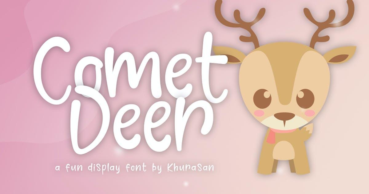 Download Comet Deer Font by khurasan