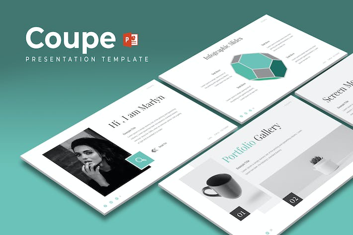 Thumbnail for Coupe - Powerpoint Template