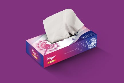 Tissue Box Packaging Design