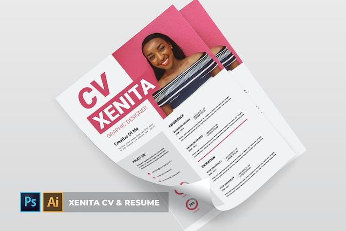 Thumbnail for Xenita | CV & Resume