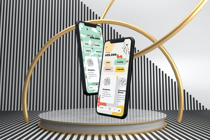 Thumbnail for Loans Finance Mobile App Ui