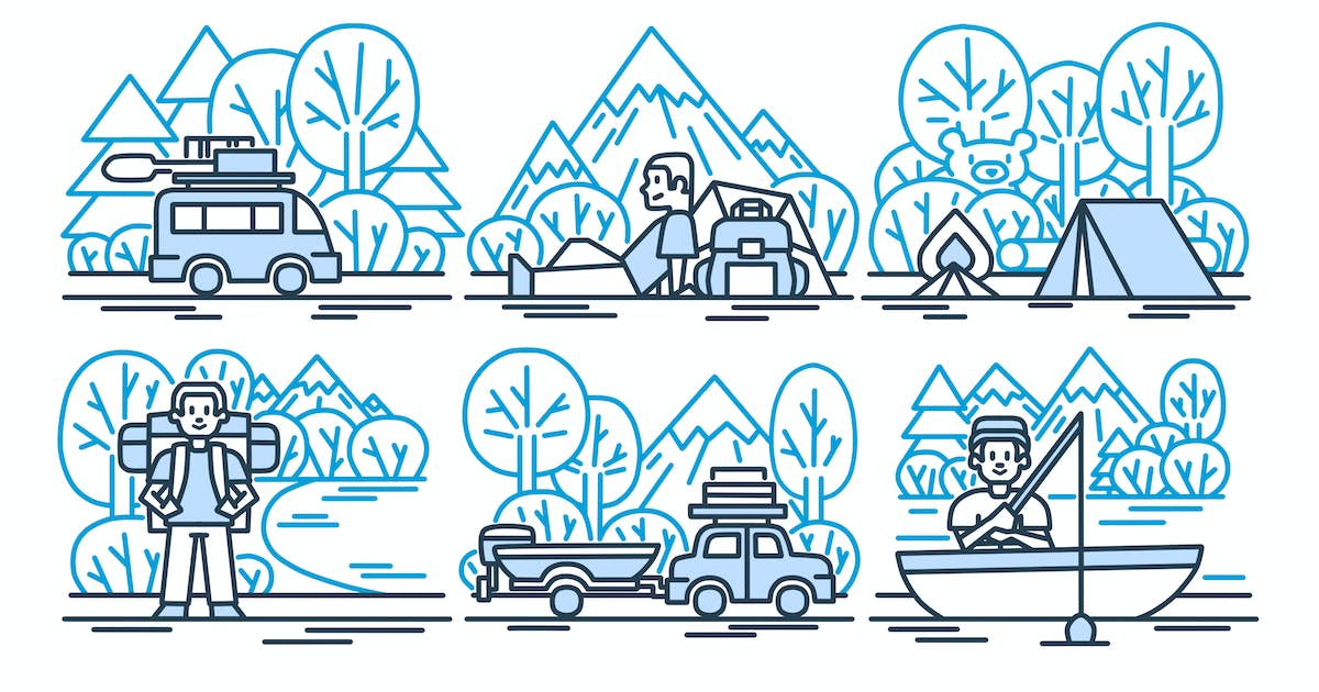 Outdoorsy Clipart by Jumsoft