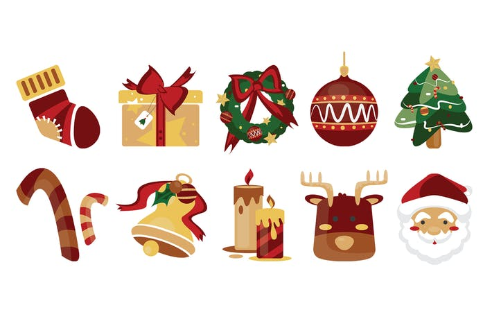 Cover Image For 10 Christmas Icons