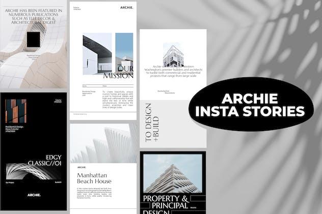 Archie - Insta Stories Template