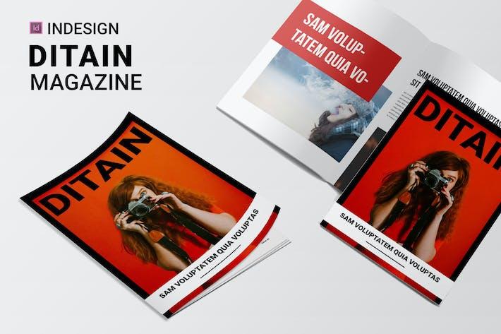 Thumbnail for Ditain | Magazine
