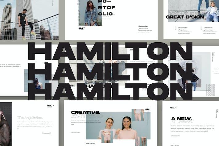 Thumbnail for HAMILTON - Keynote Business Corporate