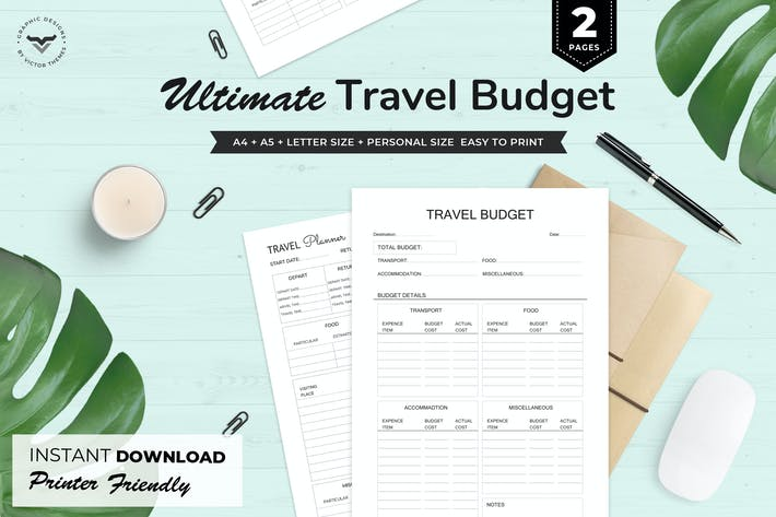 Thumbnail for Ultimate Travel Budget Planner