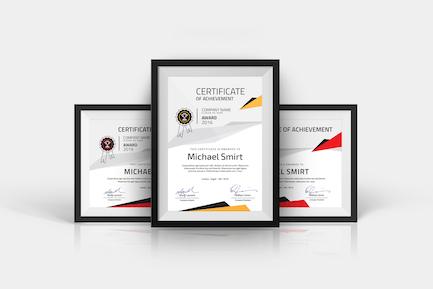 Современные сертификаты