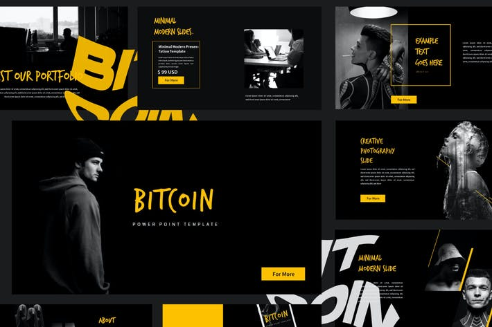Thumbnail for Bitcoin Business Presentation Template - LS