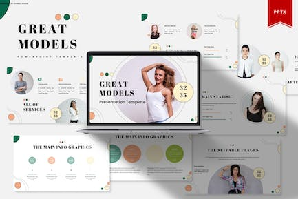 Great Models   Powerpoint Template