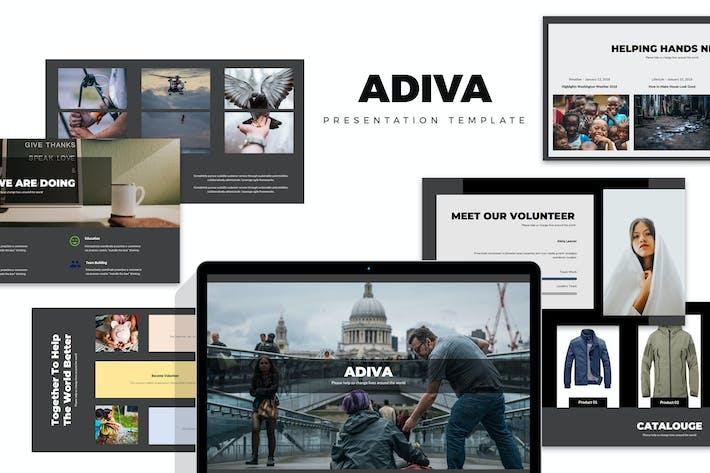 Thumbnail for Adiva : Social, Fundraising, Charity Keynote