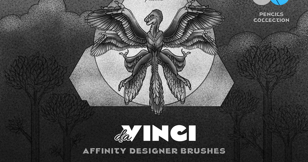 Download Pencil Affinity Designer Brushes by pixelbuddha_graphic