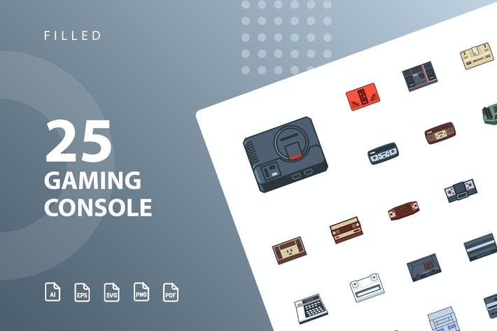 Cover Image For Gaming Console Filled