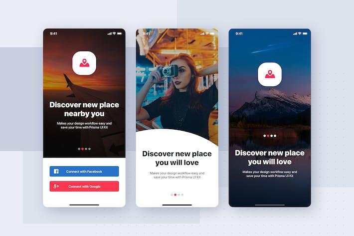 Thumbnail for Walkthrough Mobile Interface Template