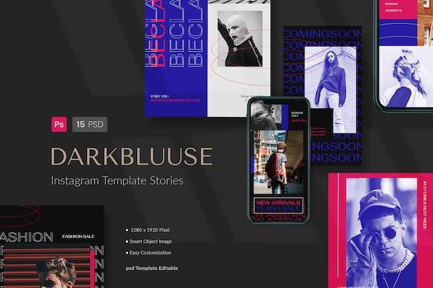 Fashion Streetwear Instagram Stories Template