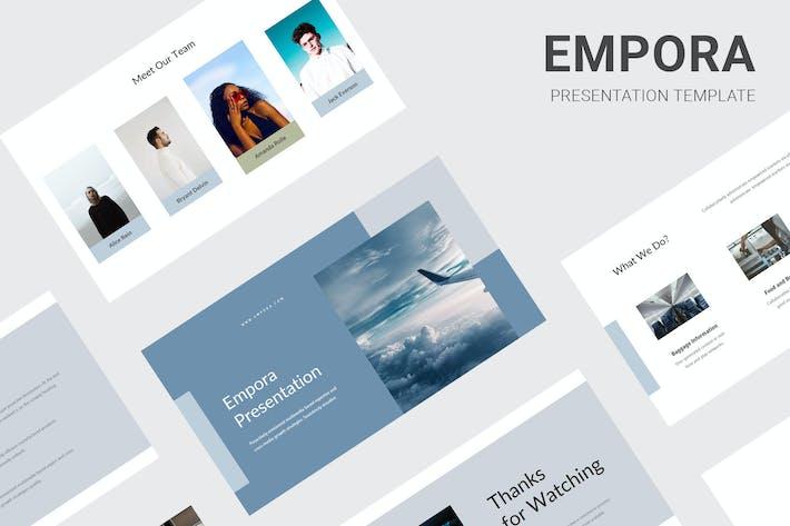 Thumbnail for Empora - Aviation Business Google Slides