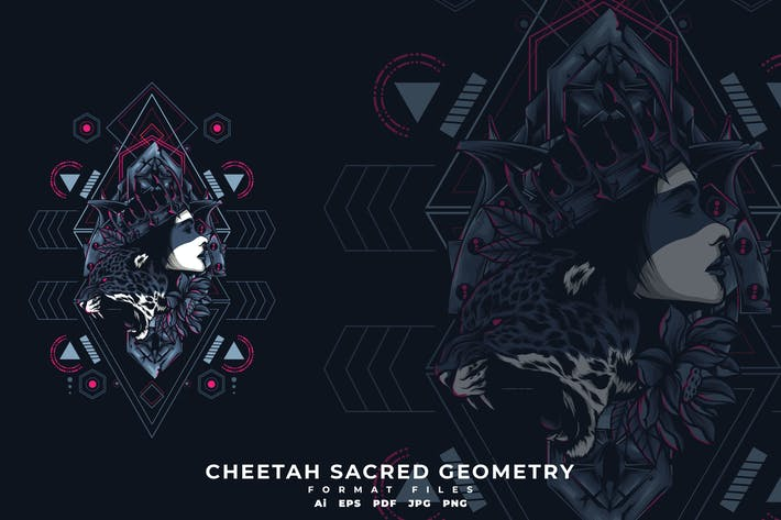 Thumbnail for Cheetah Scared Geometry