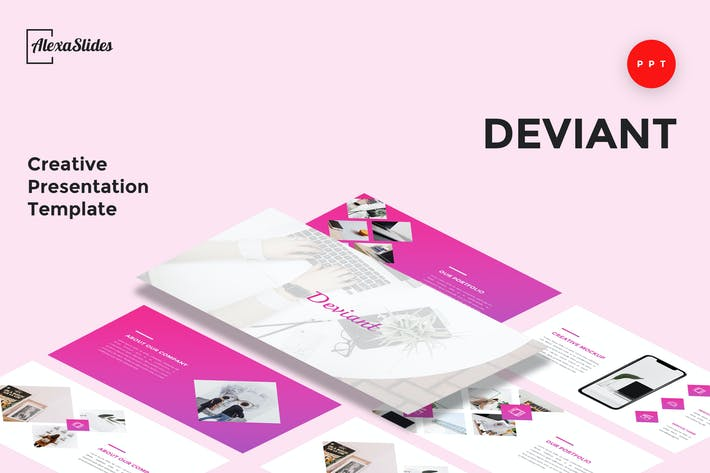 Thumbnail for Deviant - Creative Powerpoint Template