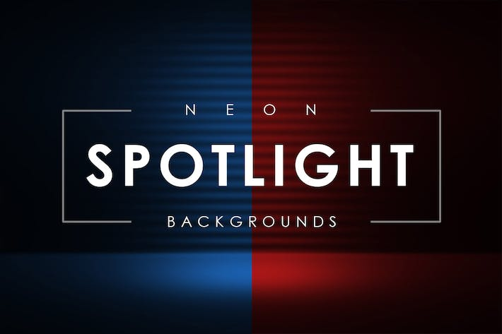 Thumbnail for Neon Spotlight Backgrounds