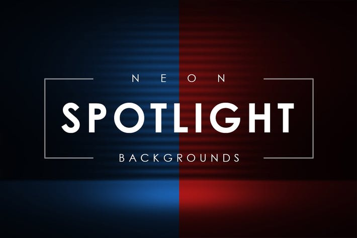 Neon Spotlight Backgrounds