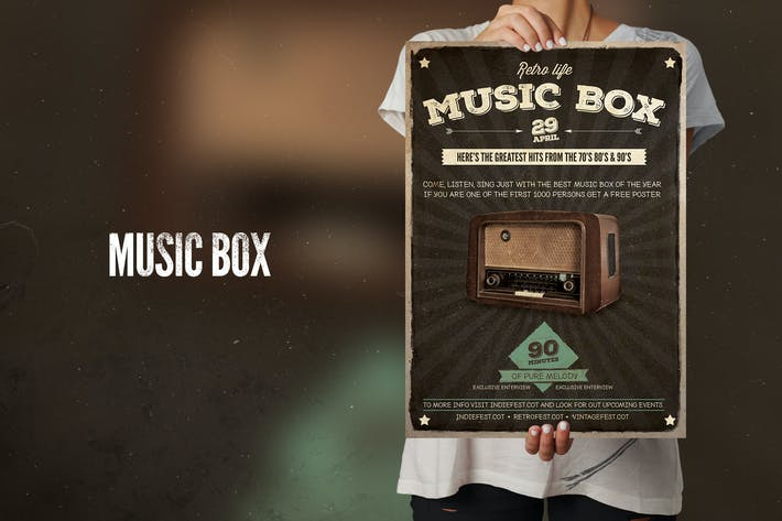 Thumbnail for Music Box Flyer poster