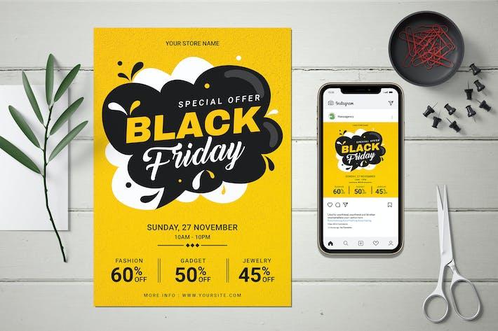 Black Friday Sale Poster & Banner Design
