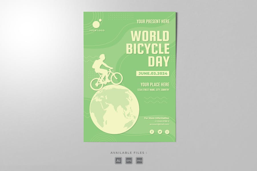 Bicycle Day Poster