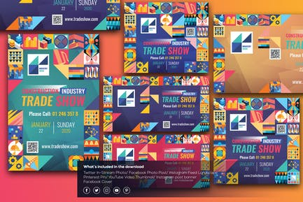 Industry Show-Social Media Template
