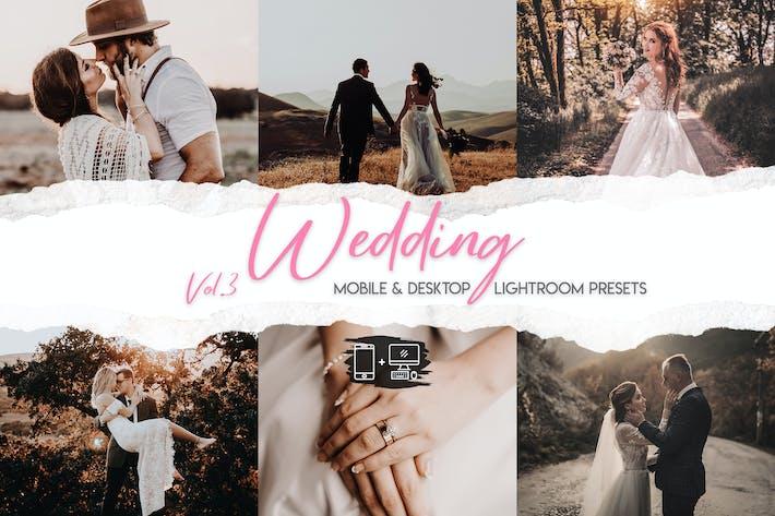 Thumbnail for Wedding Lightroom Presets Vol. 3