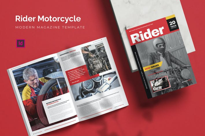 Thumbnail for Rider Motorcycle - Magazine