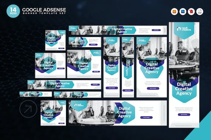 Thumbnail for 14 Digital Creative Agency Google Adsense Banner