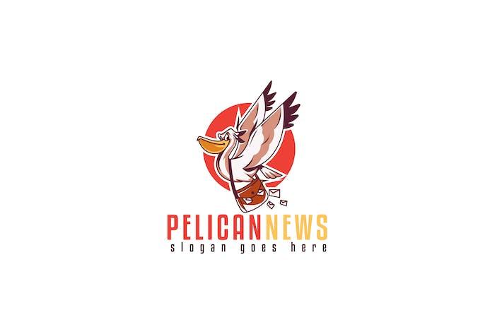 Thumbnail for Pelican News Blog Logo Template