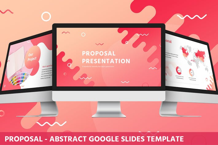Thumbnail for Proposal - Abstract Google Slides Template