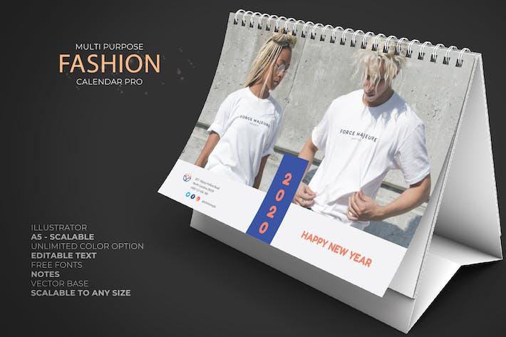Thumbnail for 2020 Fashion Calendar Pro
