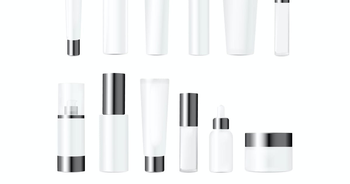 Download Realistic Bottles for Various Cosmetics by alexdndz