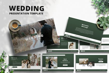 Wedding - PowerPoint Template