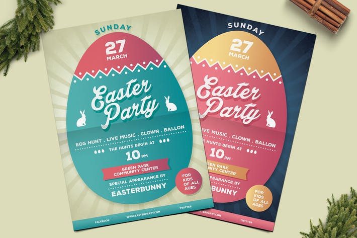 Thumbnail for Easter Party Flyer