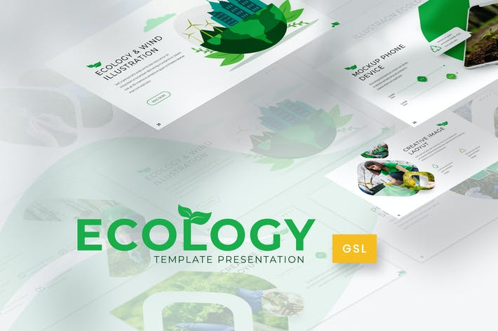 Thumbnail for Ecology - Environment Google Slides Template