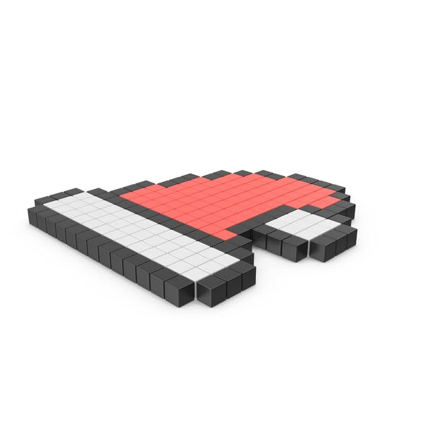Thumbnail for Pixelated Santa Hat Icon