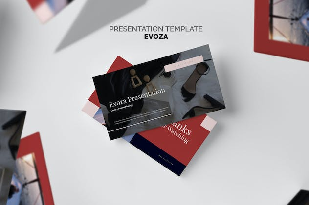 Evoza : Luxury Lifestyle Keynote - product preview 8