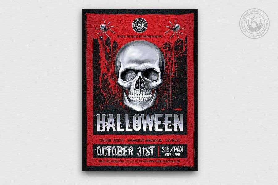 Halloween Flyer Template V23