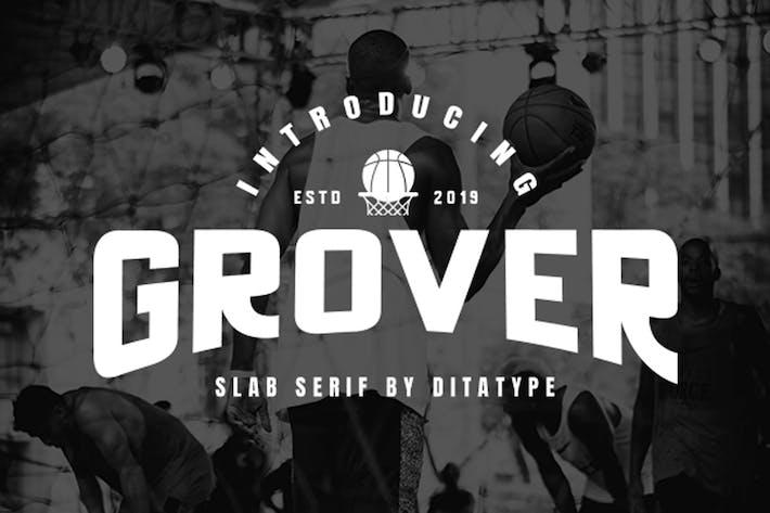 Thumbnail for Fuente de pantalla Grover-Poderoso