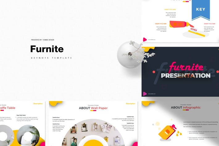 Thumbnail for Furnite | Keynote Template