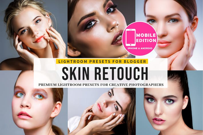 Skin Retouch Lightroom Presets