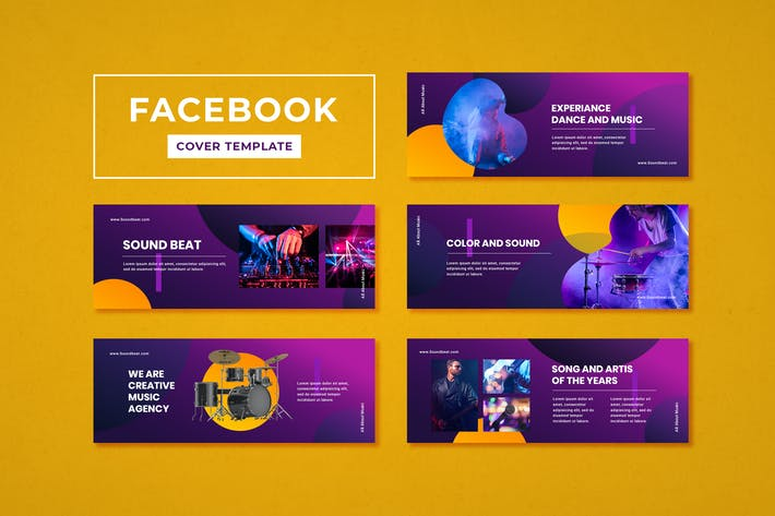 Thumbnail for Facebook Cover Template Music