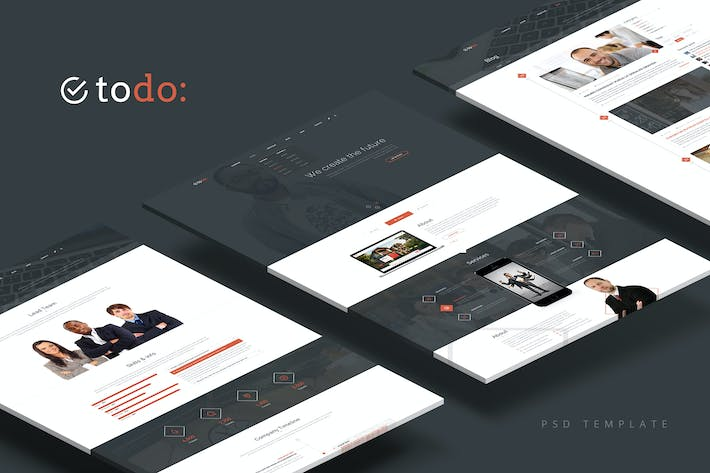 Thumbnail for ToDo — Multipurpose PSD Template