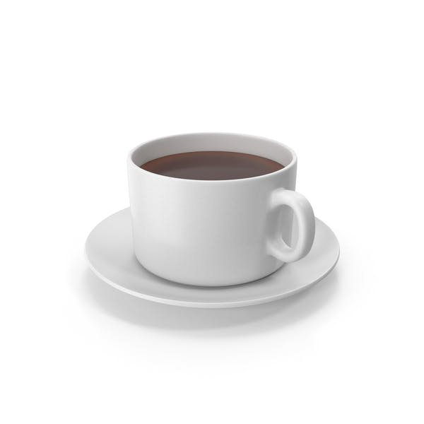 Coffee Cup With Plate