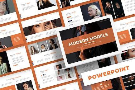 Modern Models - Powerpoint Template