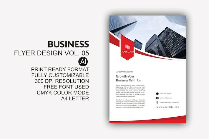 Thumbnail for Business Flyer Design Kit Vol.05