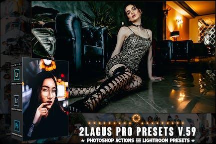 PRO Presets - V 59 - Photoshop & Lightroom